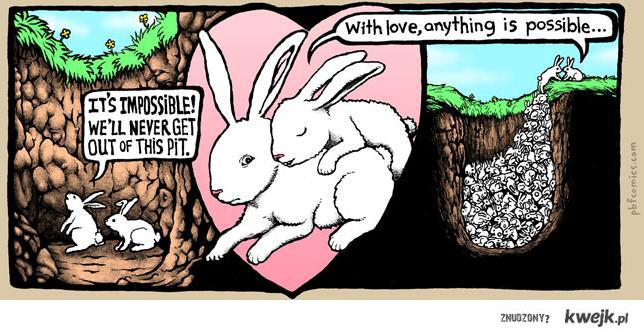Witk love anything's possible.