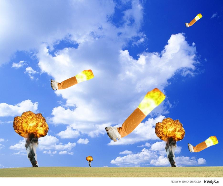 Atak rakietowych kiepów