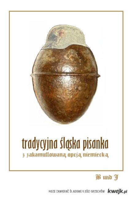 """""""Tradycyjna"""" śląska pisanka"""