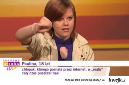 Sad Paulina is sad.