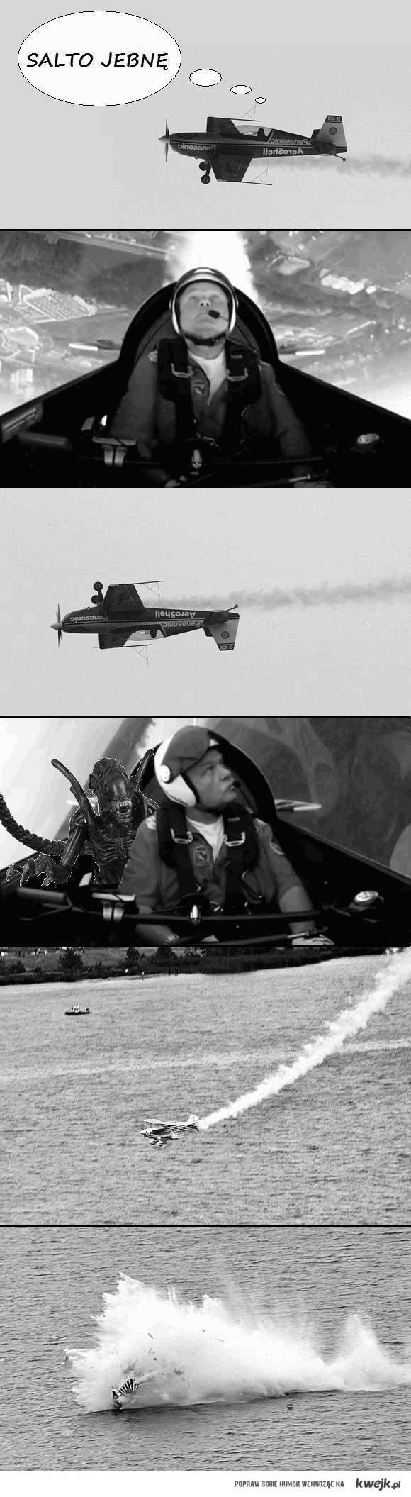 Prawdziwa przyczyna wypadku pilota Szufy
