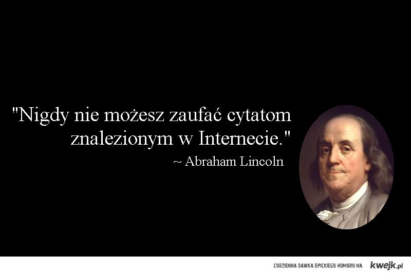 Lincoln o Internecie