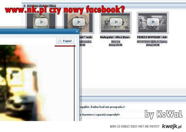 Nk czy nowy facebook?