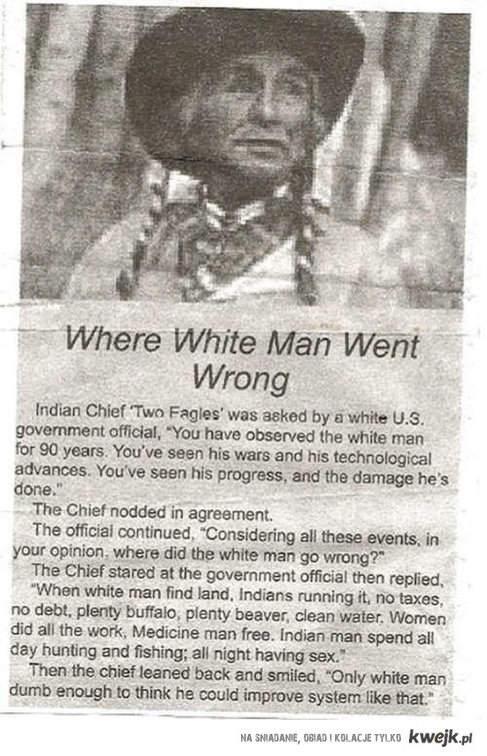 Bład białego człowieka