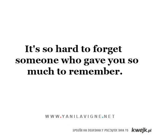 to remeber