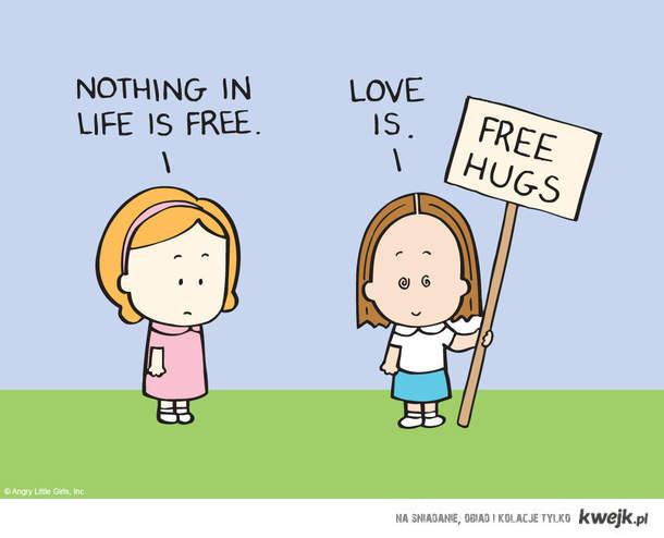Tomorrow is hug day! : D