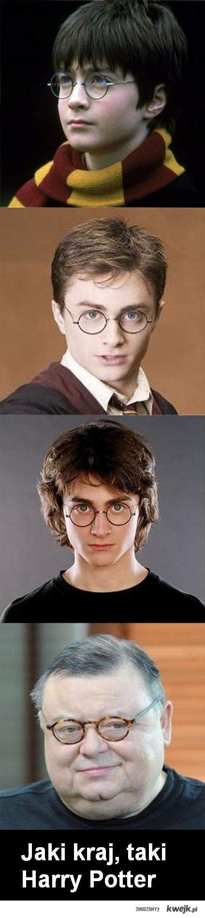 Jaki kraj, taki Harry Potter