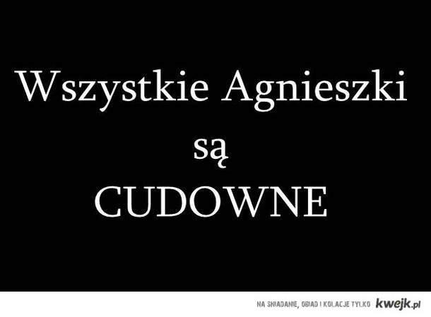 Agnieszki