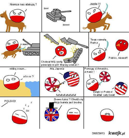 Polska -  teraz po prostu śpimy