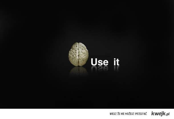 użyj go
