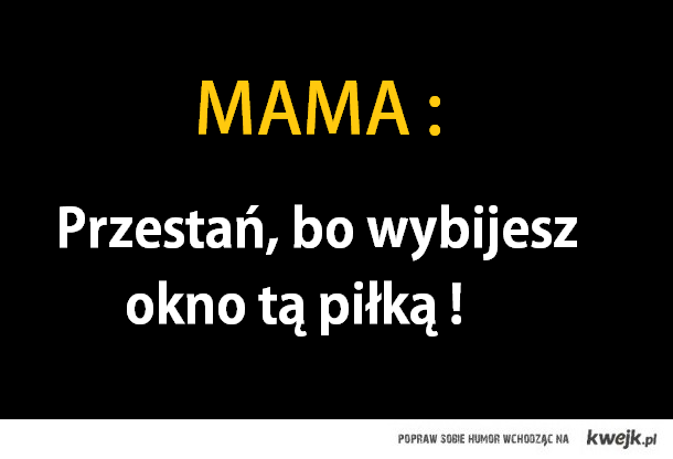 Kochane mamy
