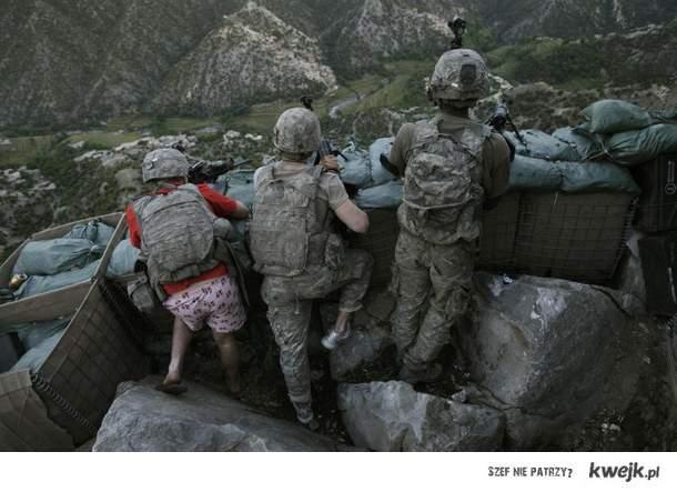żołnierze na wojnie