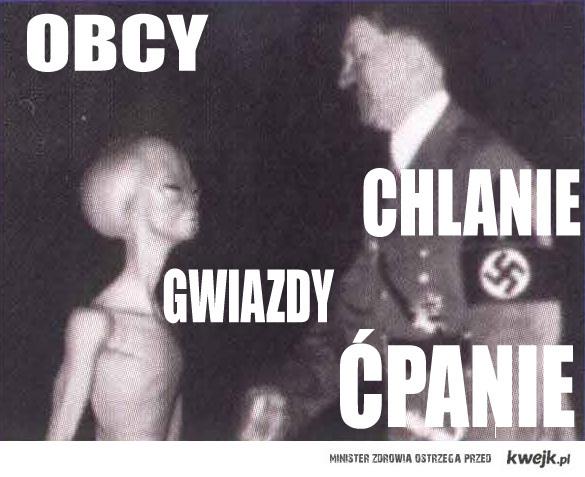 Obcy, Hitler