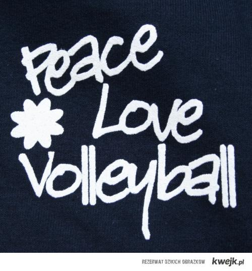 peace, love & volleyball