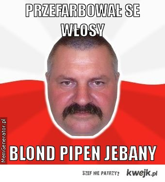 BLOND PIPEN
