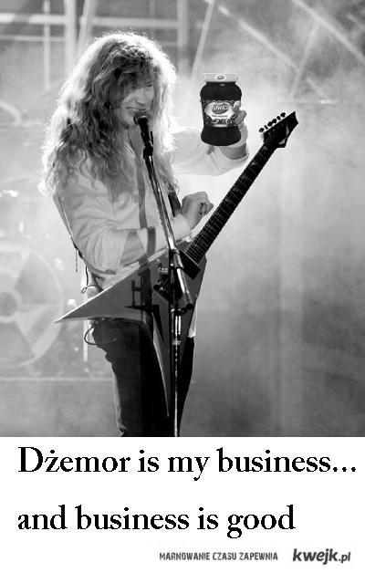 Dżemor is my business