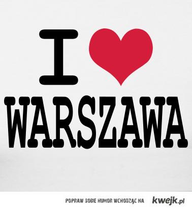 I LOVE WARSZAWA