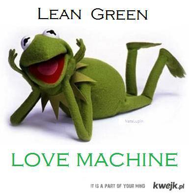 green lean love machine