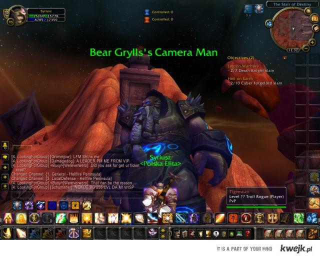 Kamerzysta Bear Gyllsa