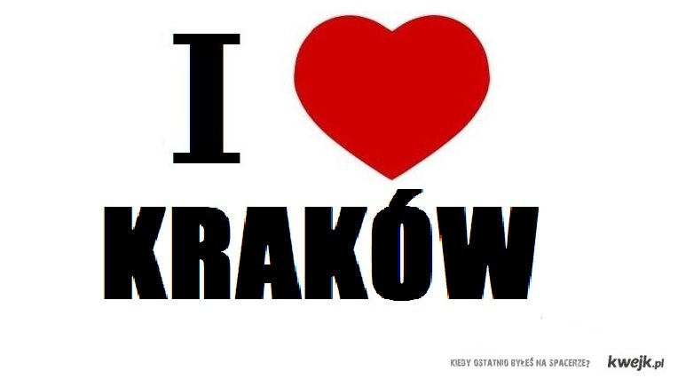 I love Cracow!