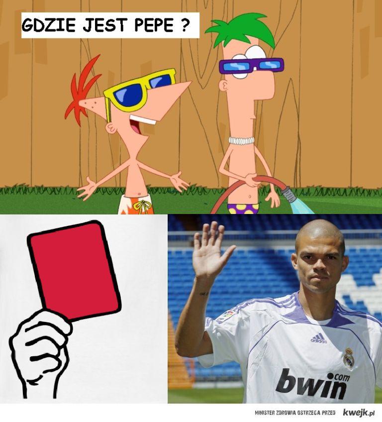 żegnamy Pepe