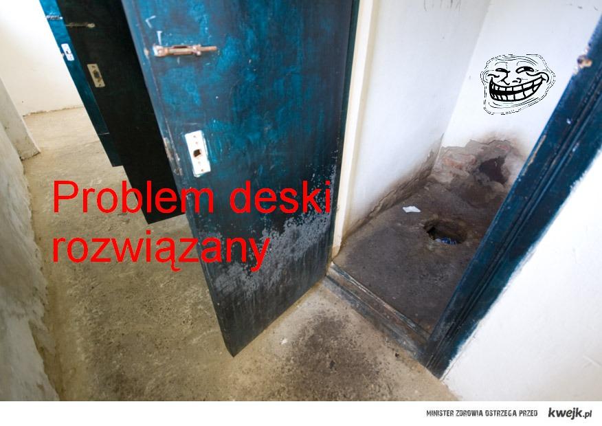 problem deski
