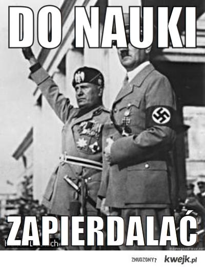 Hitler mówi - do nauki