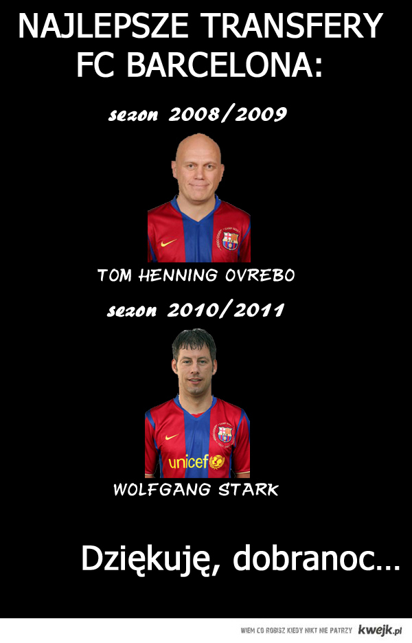 Najlepszy transfer Barcelony.