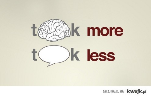 think more