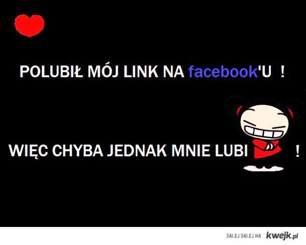 CHYBA MNIE LUBI