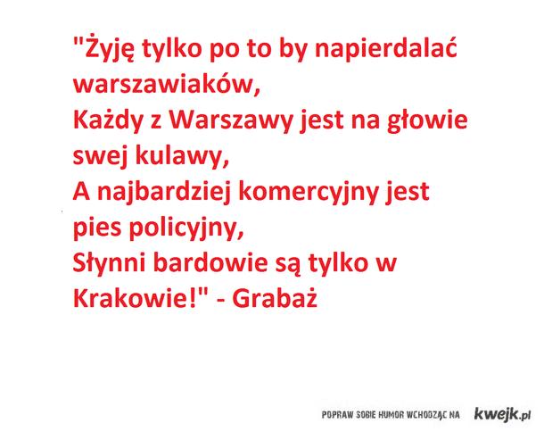 Co o Warszawie myśli Grabaż - podsumowanie wojny