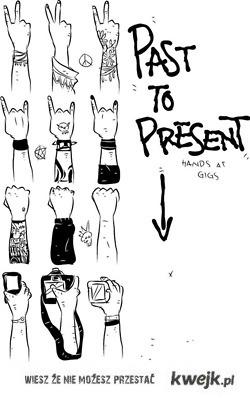 Rewolucja gestów na koncertach
