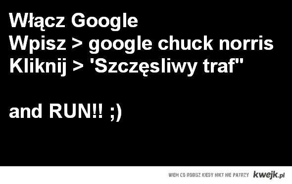 Chuck Norris Google
