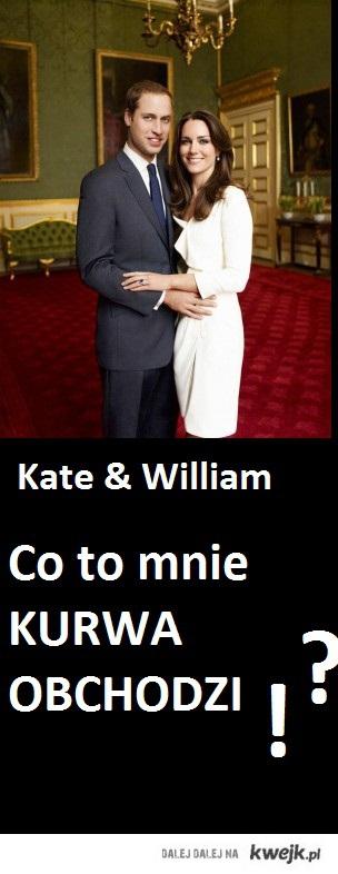 Jebać Kate & William