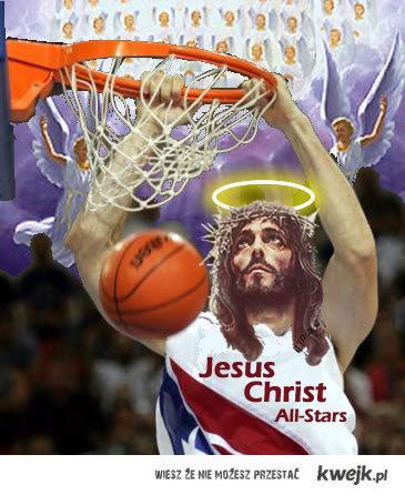 Jezus gra w kosza