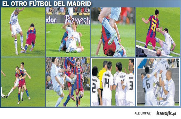 Real Madrid Anti – Football