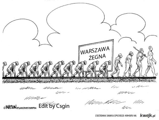 Warszawa żegna