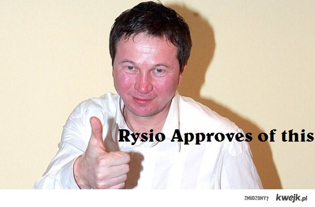 rysio approves