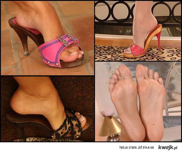 kobiece stopy sa sexowne
