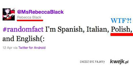 rebecca black pl?