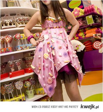 sukienka lizaki
