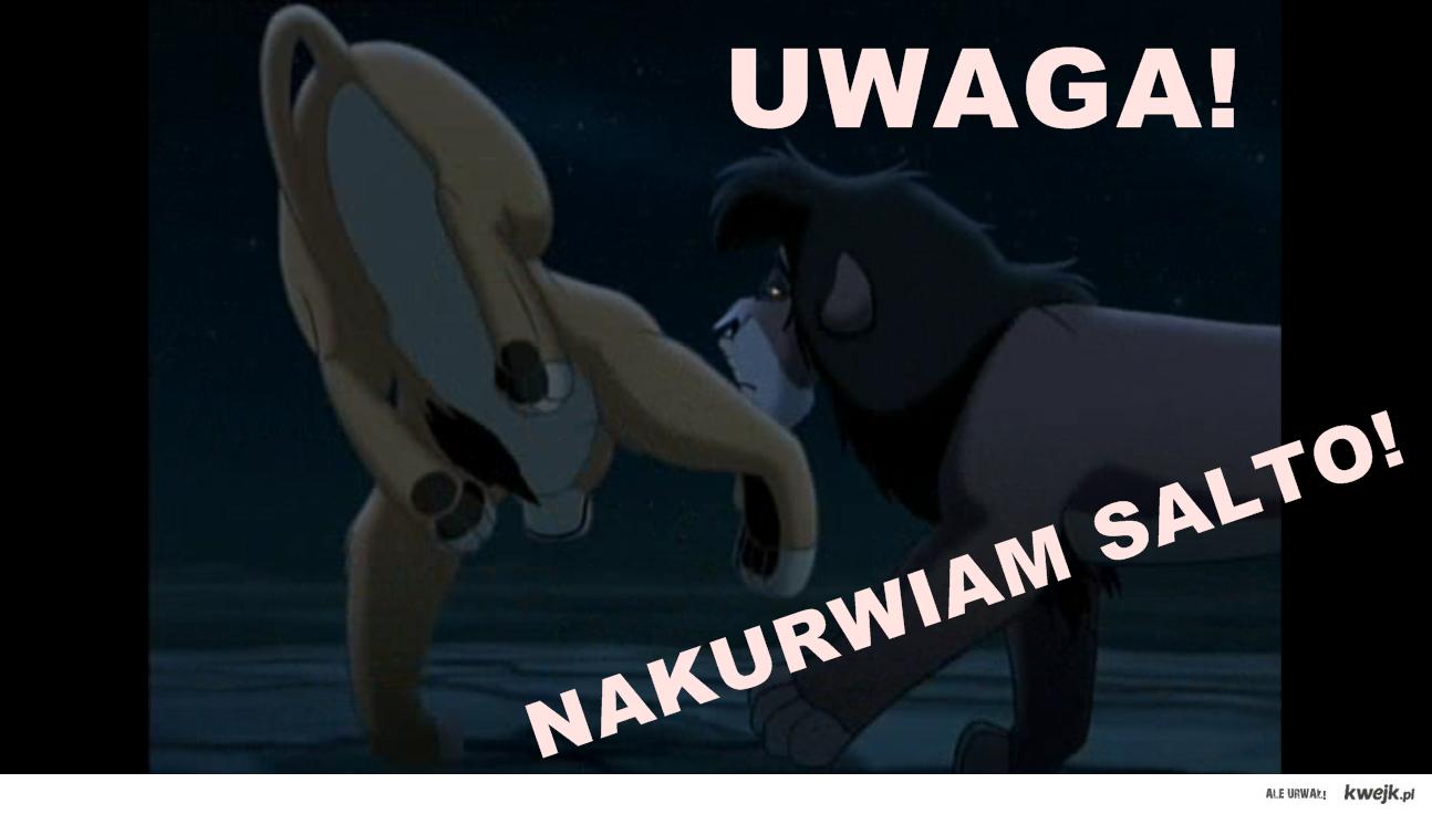 Krol Lew Nakurwia Salto