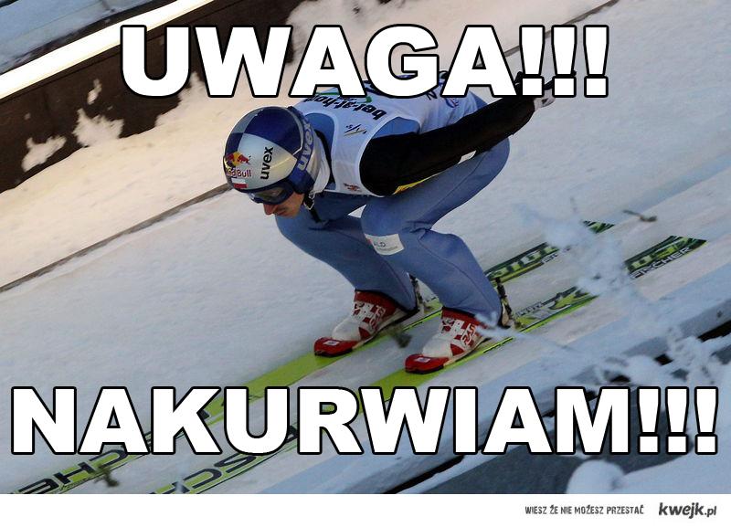 Adam Małysz - Nakurwiam!!!