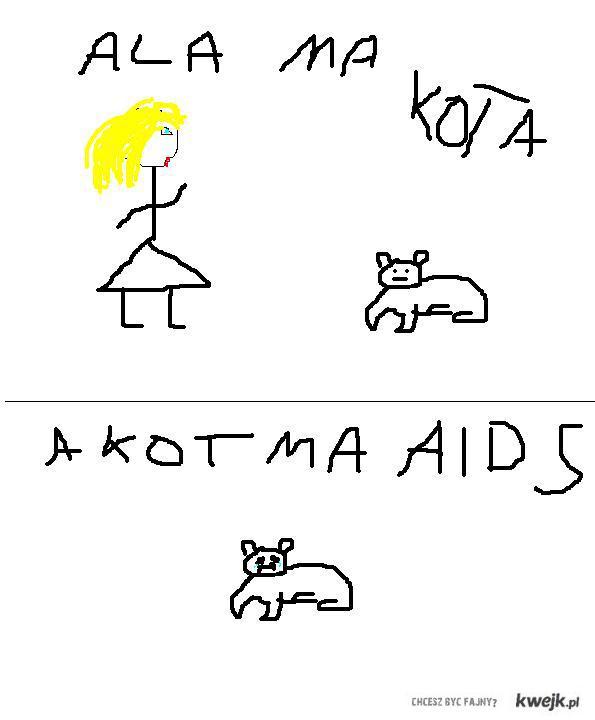 Ala ma kota