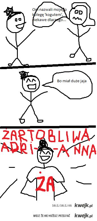 Żartobliwa Adrianna