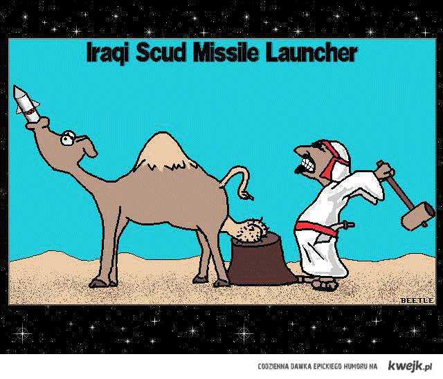 Iracka wurzutnia rakiet