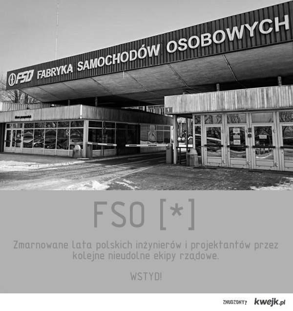 Zmarnowane FSO...
