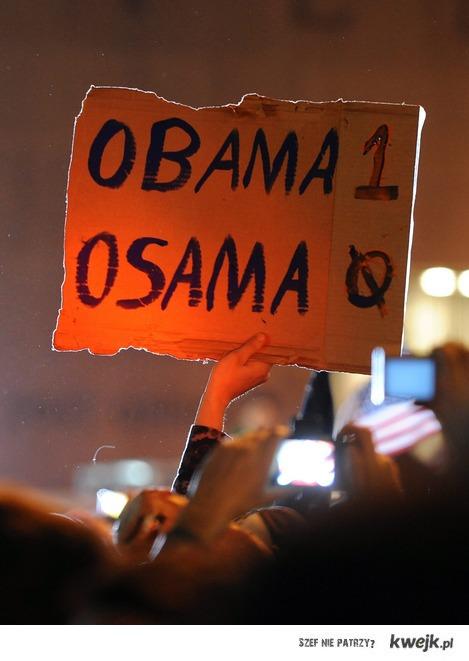 Obama 1 - 0 Osama