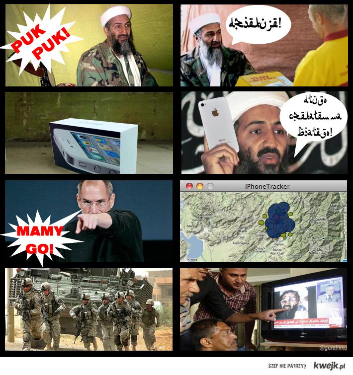 Jak zginął Bin Laden? Tylko dzięki Apple i ukrytej opcji śledzenia użytkownika!