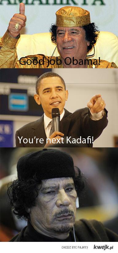 Kadafi & O(b/s)ama